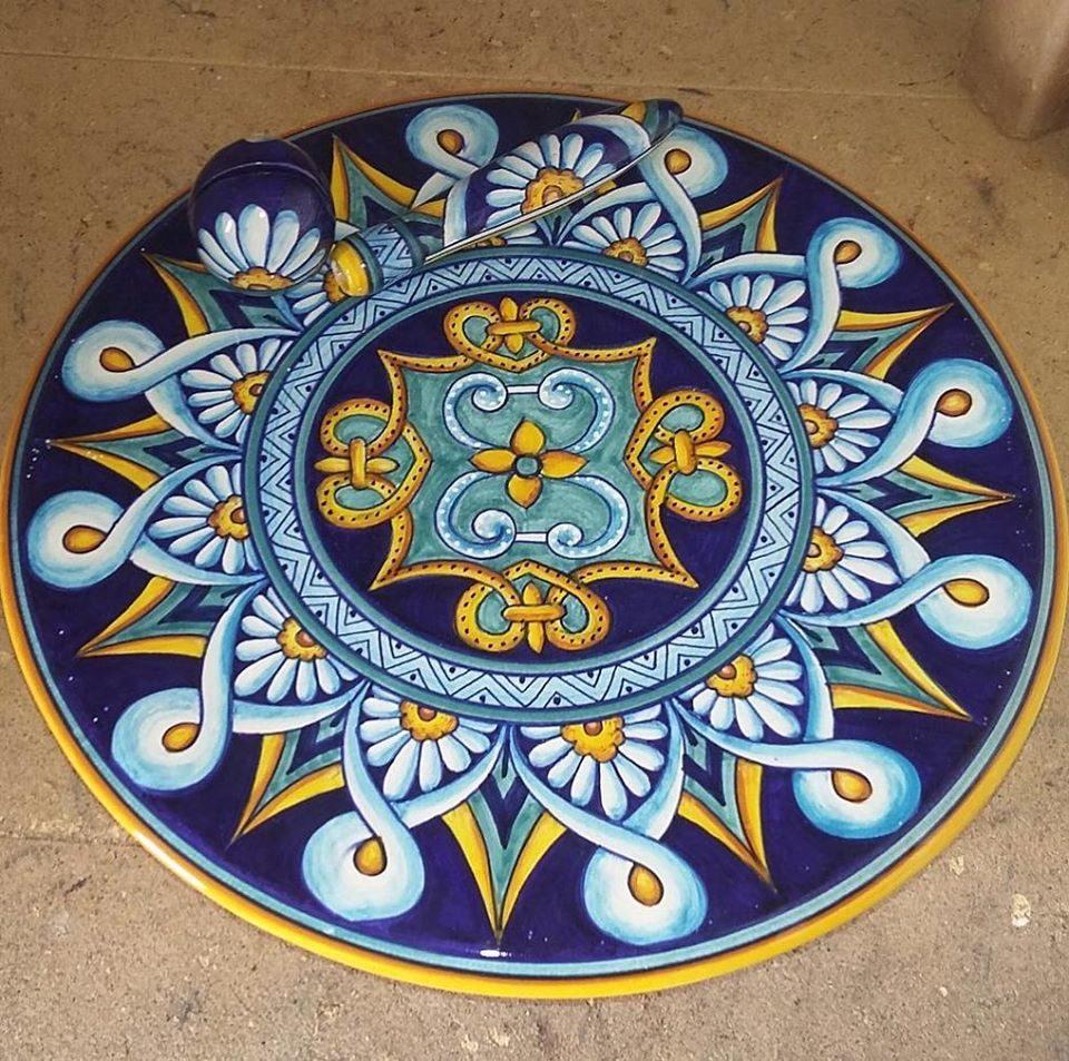 umbria, deruta, ceramiche di deruta, artigianato, ceramiche artistiche