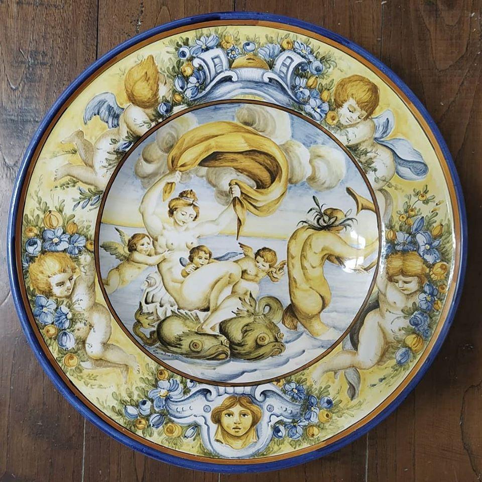 abruzzo, teramo, ceramiche artistiche, artigianato italiano, maioliche