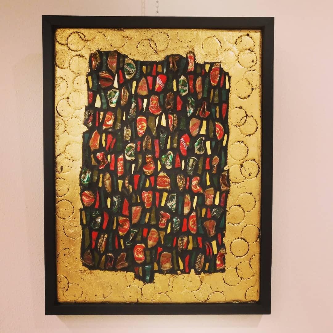 arte mosaico, artista, arte, mosaici, quadri
