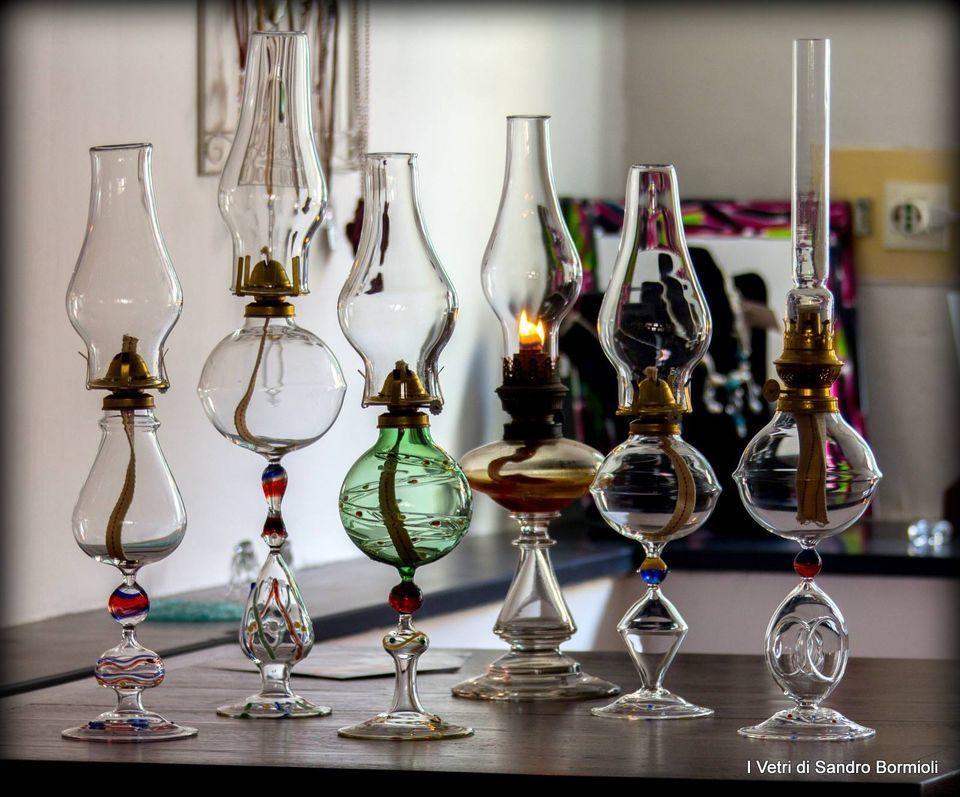 liguria, artigianato, vetro artistico, vetro lavorato, bottiglie, tazzine, lumi, portacenere, bomboniere