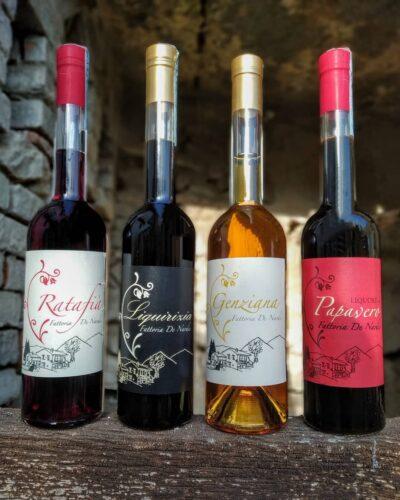 liquori artigianali, liquorificio, umbria, genziana, liquore al papavero