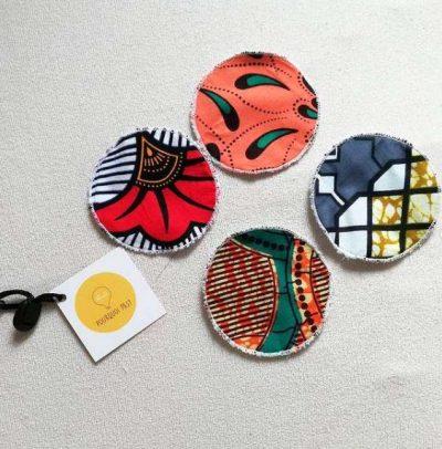 creazioni artigianali, cucito, salviette struccanti, abbigliamento, pantacollant, collane